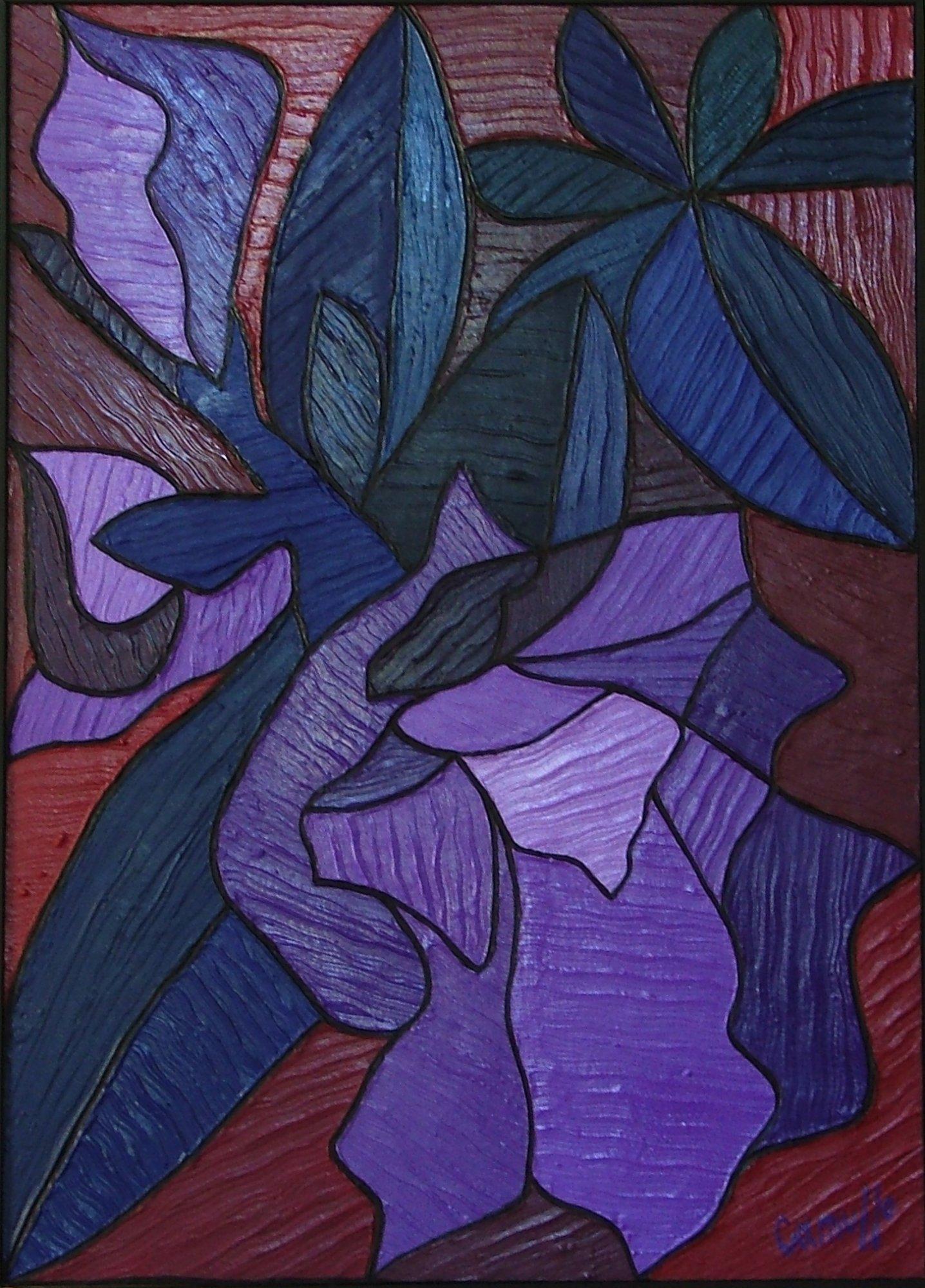 Azalea con foglie camusso artwork celeste network - Azalea foglie ...
