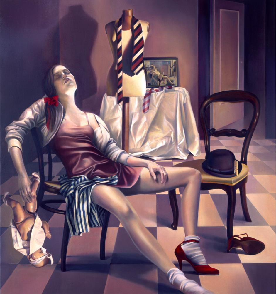 巴尔蒂斯Balthus - 水木白艺术坊 - 贵阳画室 高考美术培训