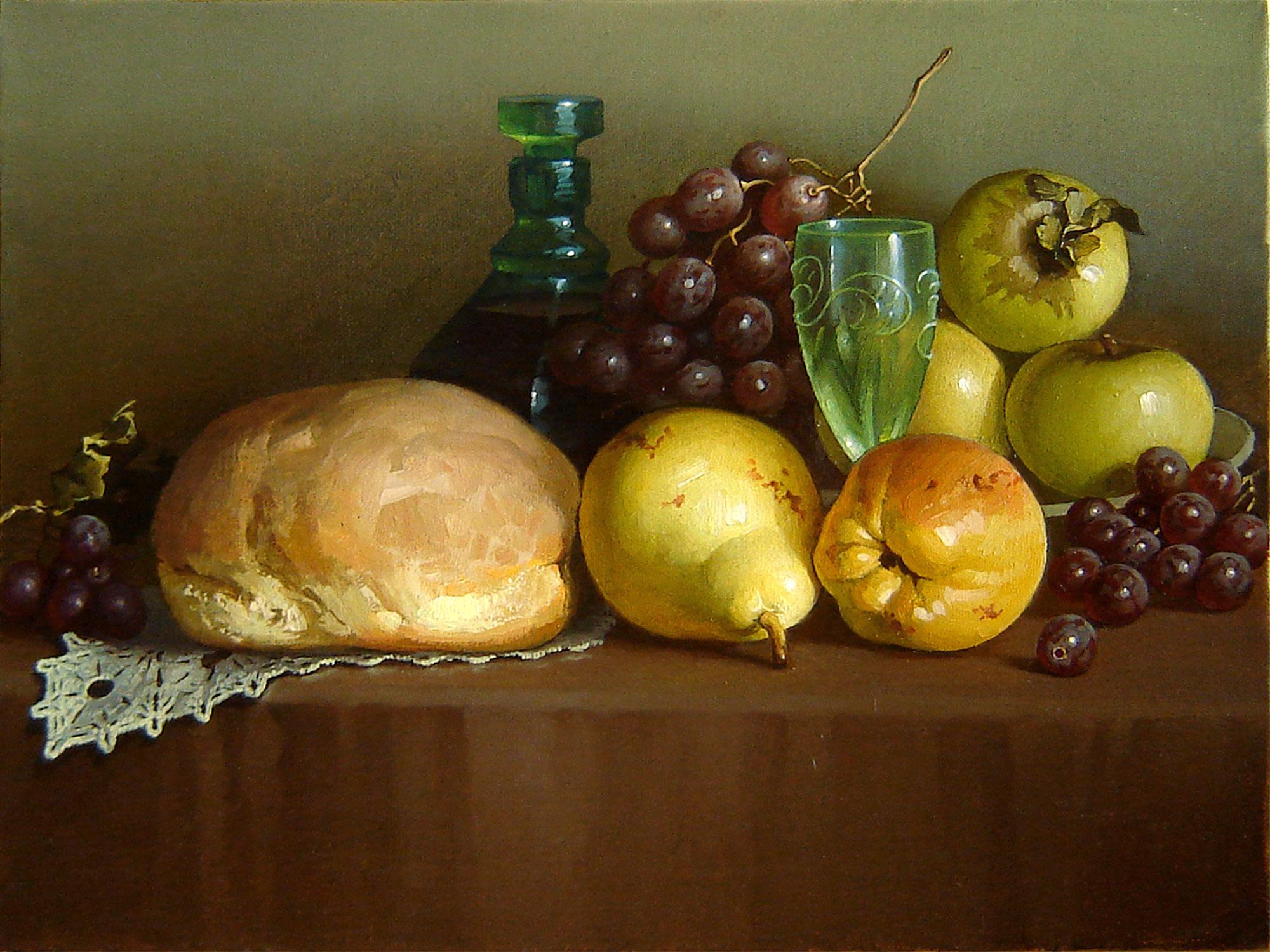 Still life with fruits - PSteam - Artwork Celeste Network