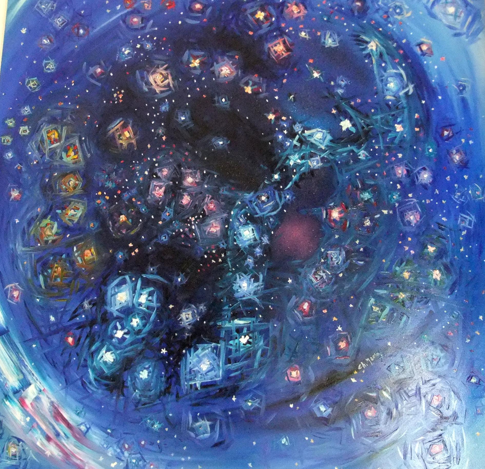 Cielo Stellato (My Stars) - ChiM - Artwork Celeste Prize