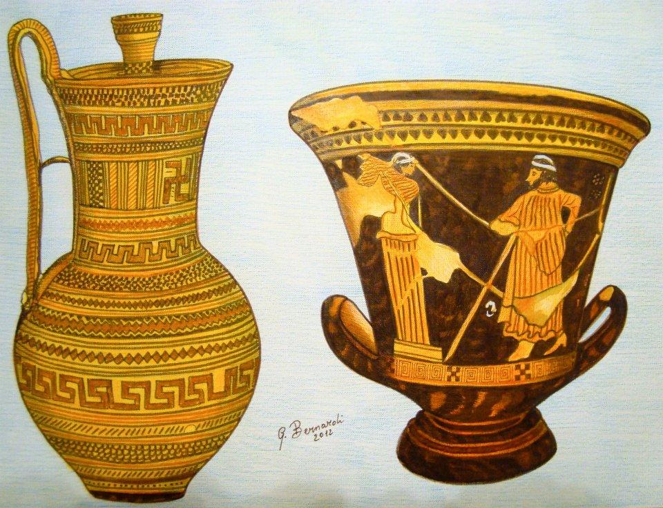 Vasi greci giovanni bernardi artwork celeste prize for Vasi antica grecia