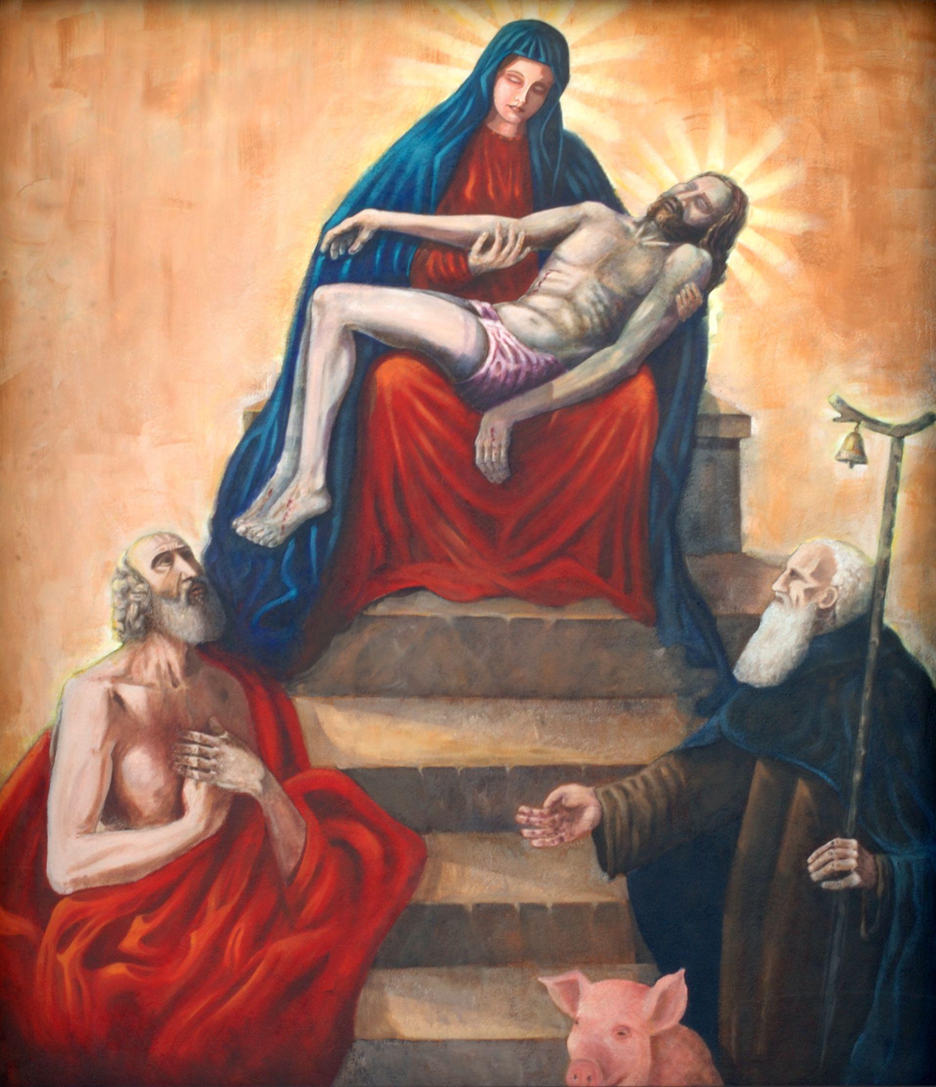 la pieta En effet, alors que je pensais bien à la pietà sculptée par michel-ange pour une chapelle de saint-pierre-de-rome (on se souvient de mes rêveries italiennes), je n'avais jusqu'alors jamais remarqué que je rêvais une pietà qui n'était pas une piéta — (éric calamote, l'expérience traumatique: clinique des agressions.