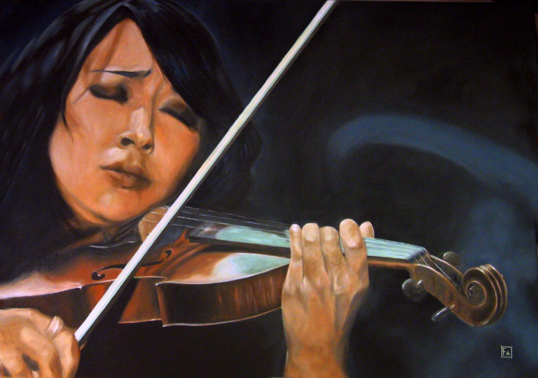 Estasi (Lucia Micarelli) - franco fasano - Artwork Celeste Prize