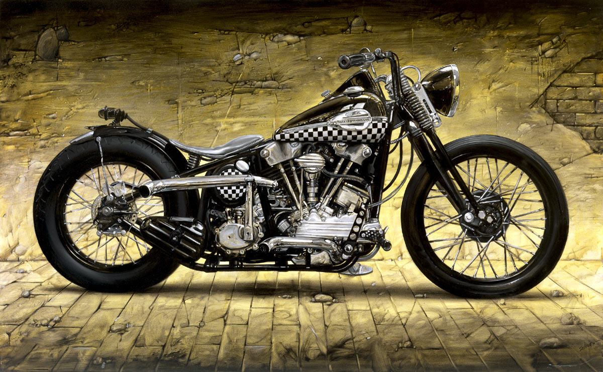 Harley Davidson: Motorcycle Art, Motorcycles And