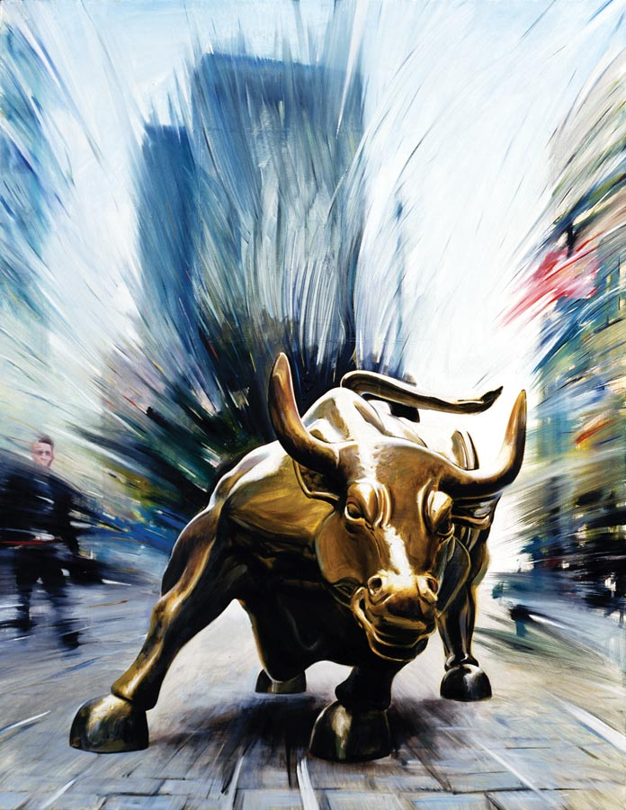 The Wall Street Bull of New York - Andrea Del Pesco - Artwork ...