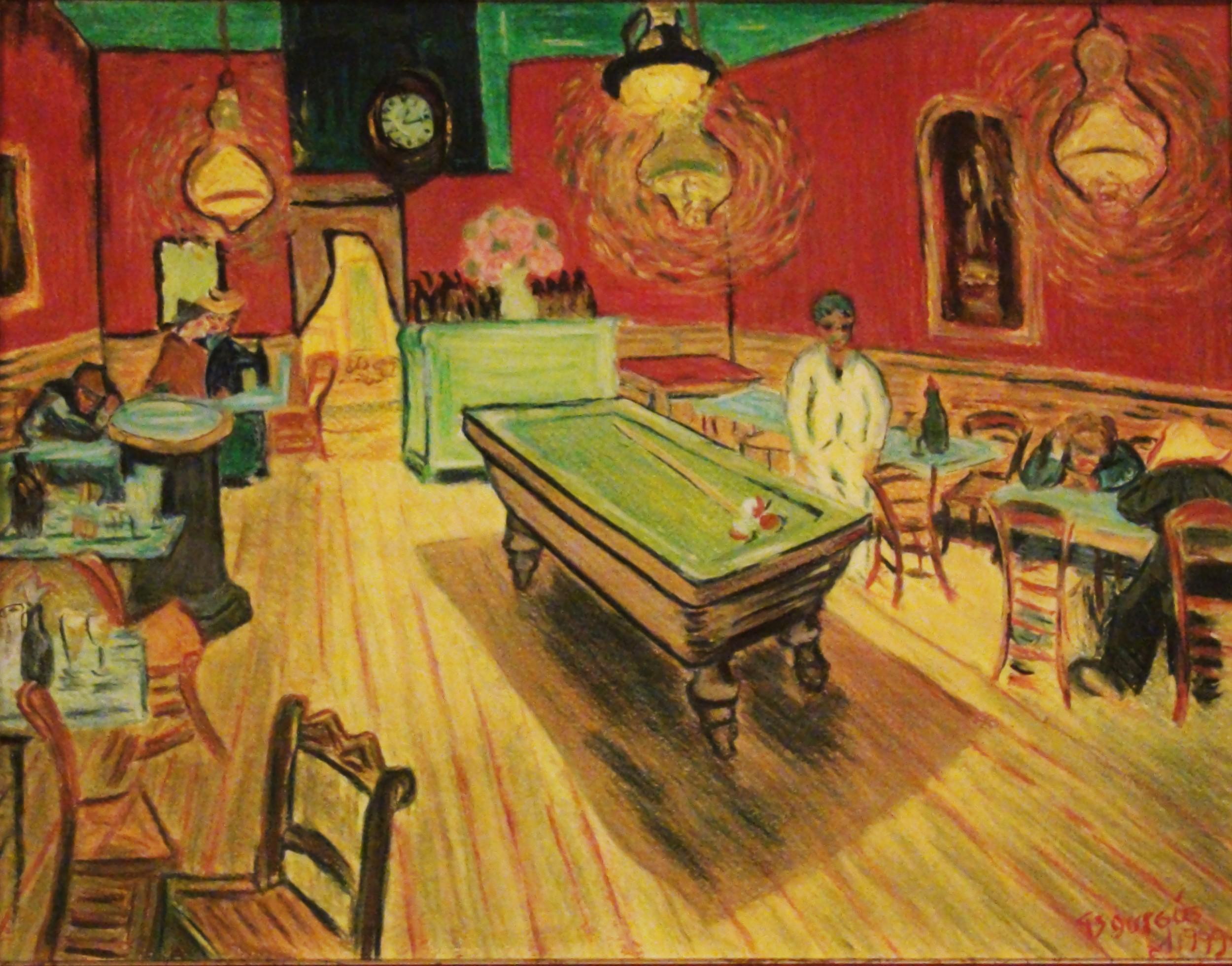 Vincent Van Gogh Night Cafe Van Gogh Night Cafe