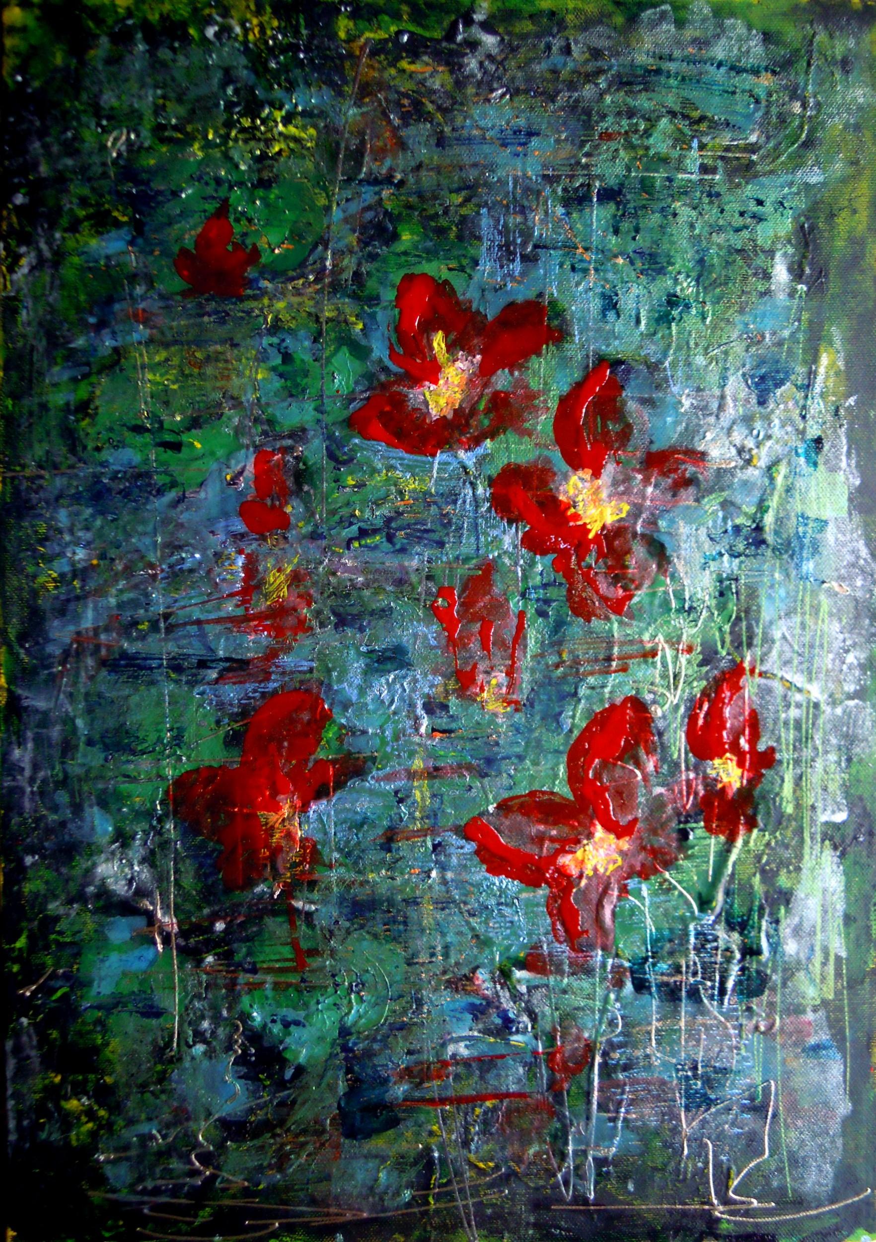 fiori nello stagno ornella balbo artwork celeste network