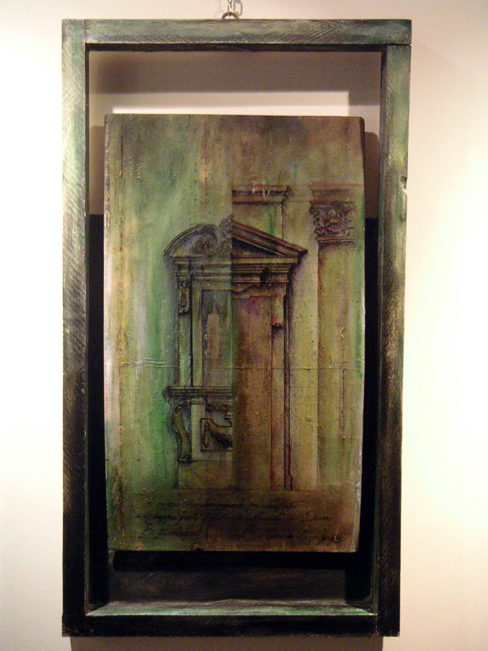 Porta e finestra inginocchiata marco da massa artwork - Porta finestra dwg ...