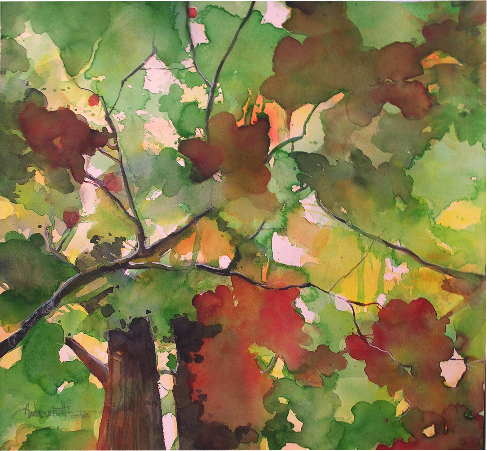 Autumn leaves n.4 - Alessandro Andreuccetti - Artwork ...