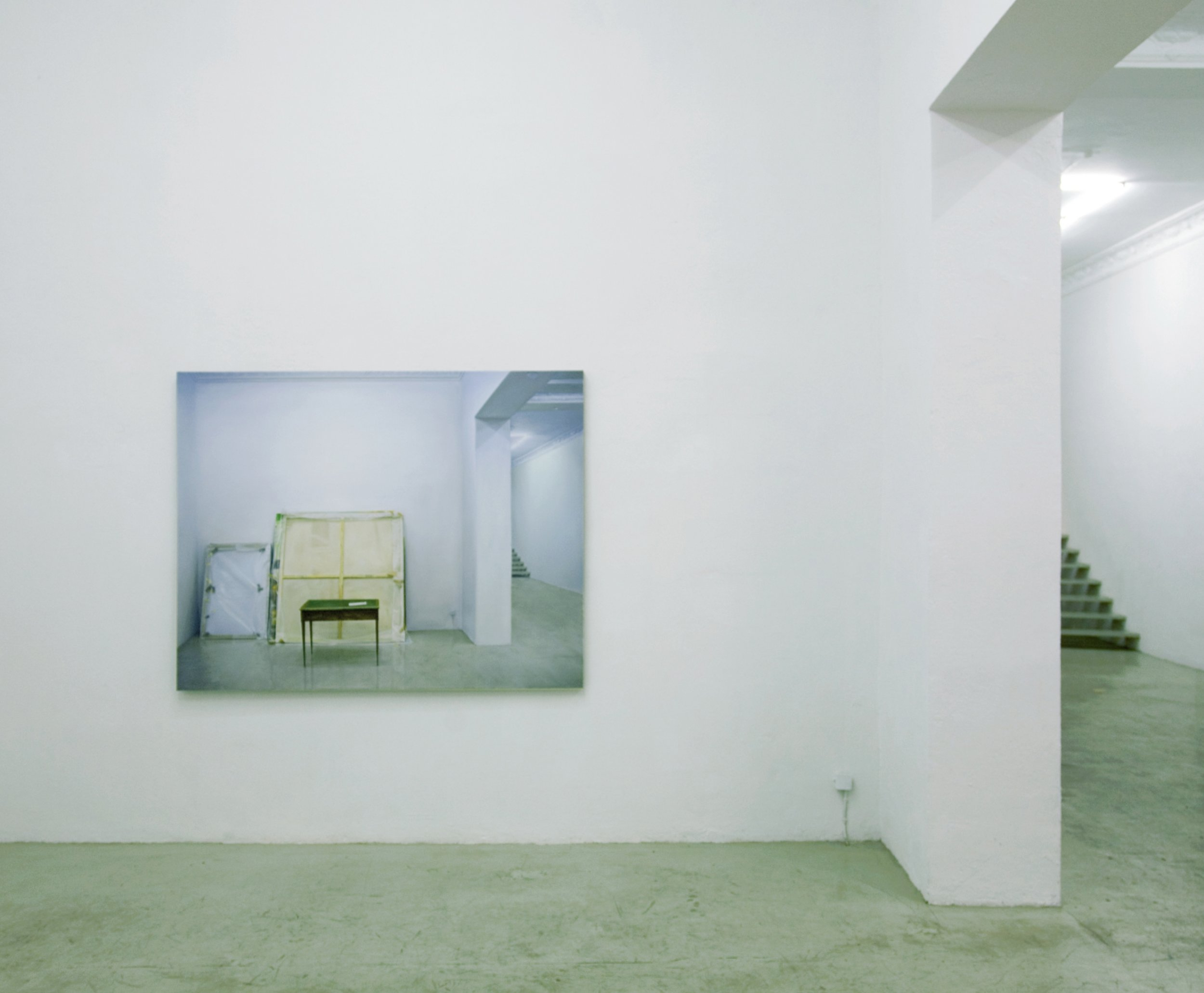 'Gallery (DESK)' instalation view - photo with the painting 'GALLERY (DESK)'