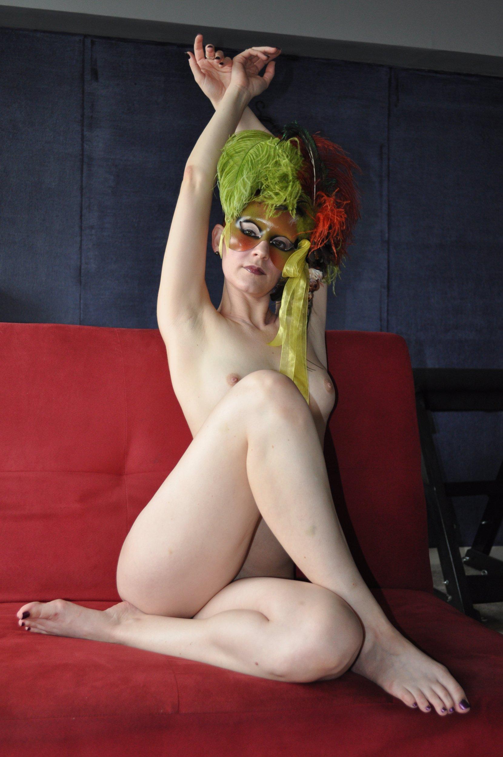 Ana Cabrera Nude bella nude - dem wolfe - celeste prize 2010 - artwork