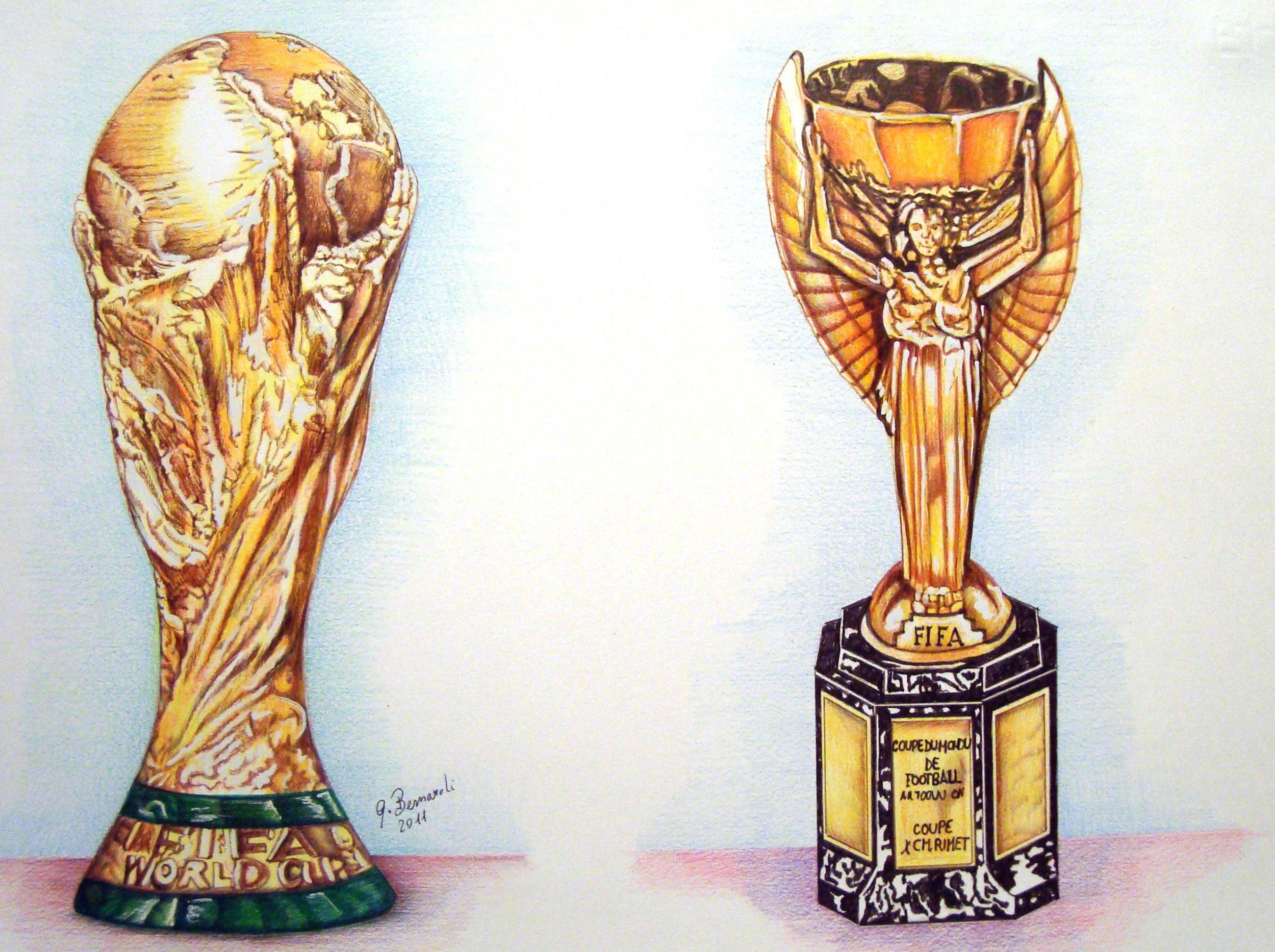 Coppa Del Mondo E Coppa Rimet Di Calcio