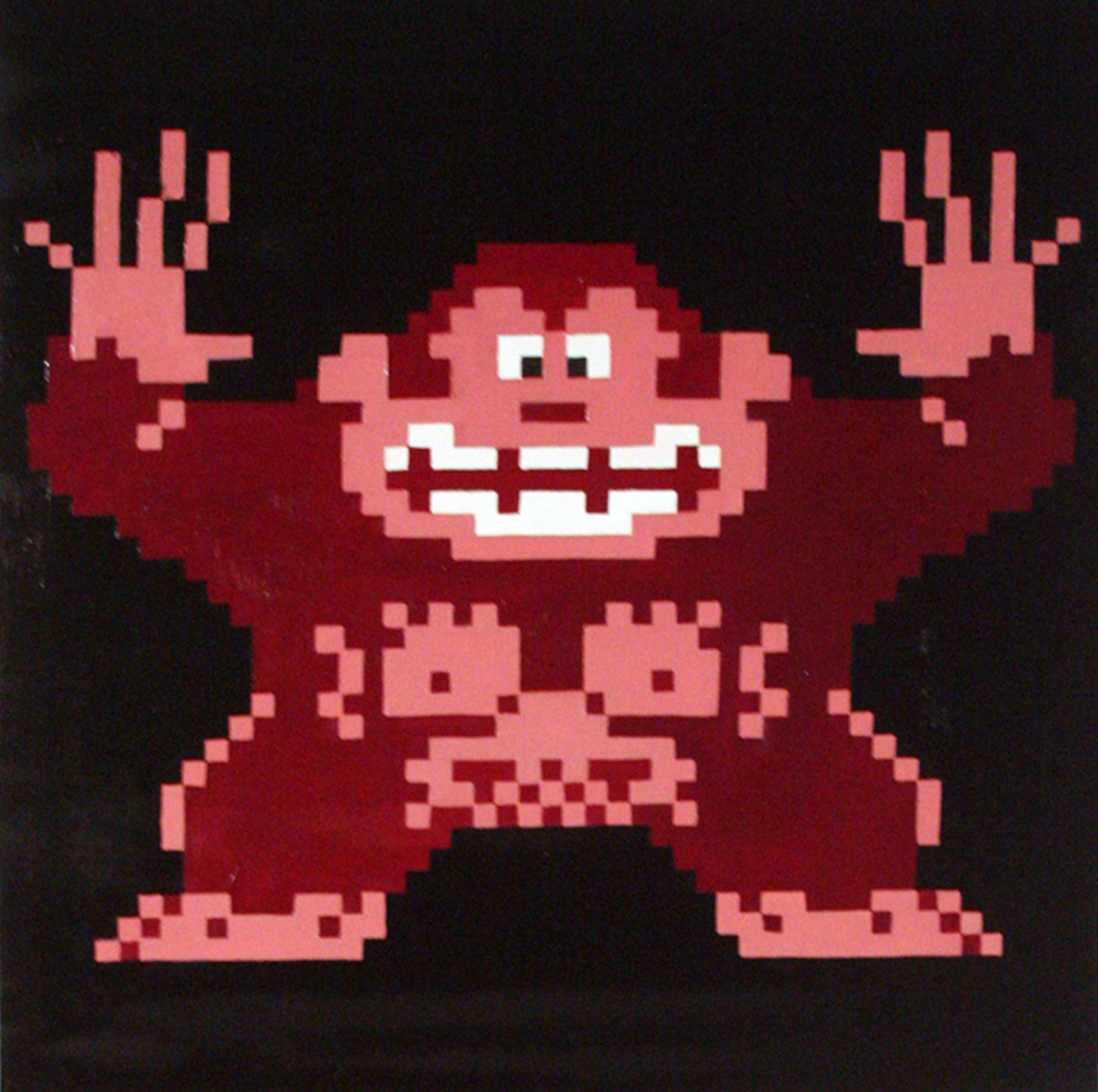 Ravelry: Donkey Kong pattern by Edward Yong   2486x2500