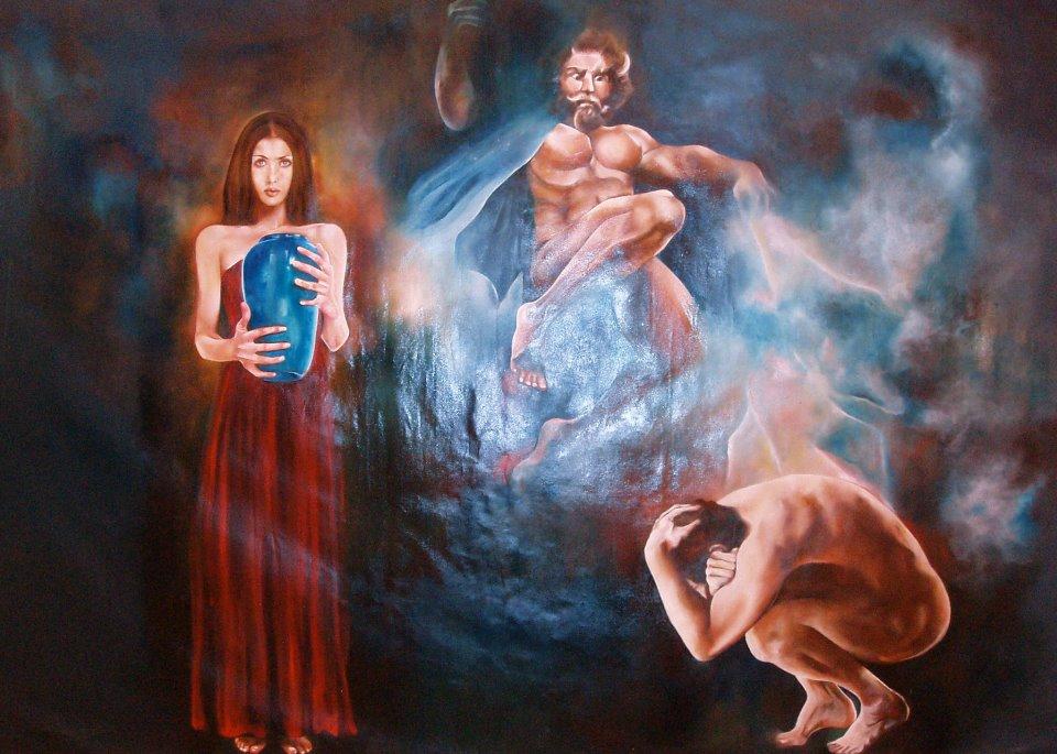Il mito di pandora yasmin hassanin artwork celeste network for Mito vaso di pandora