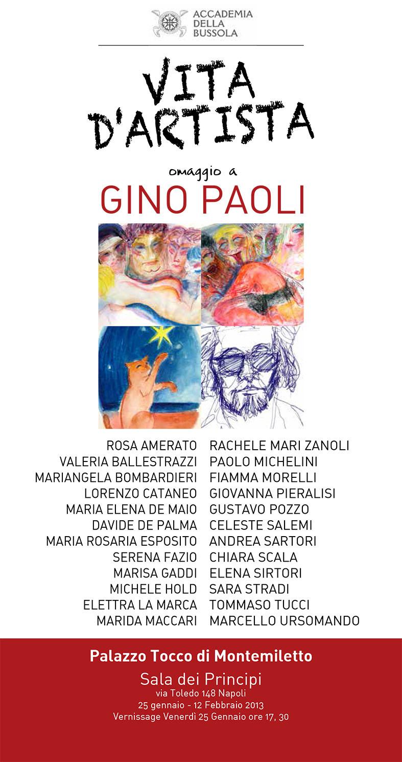 Vita D Artista Accademia Della Bussola Artwork Celeste Network