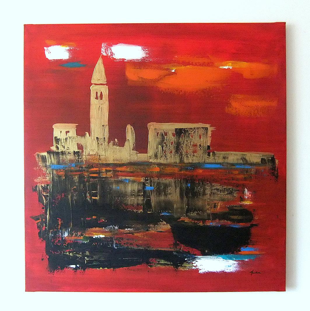 Quadri astratti moderni venezia astratto sanader art for Quadri astratti immagini