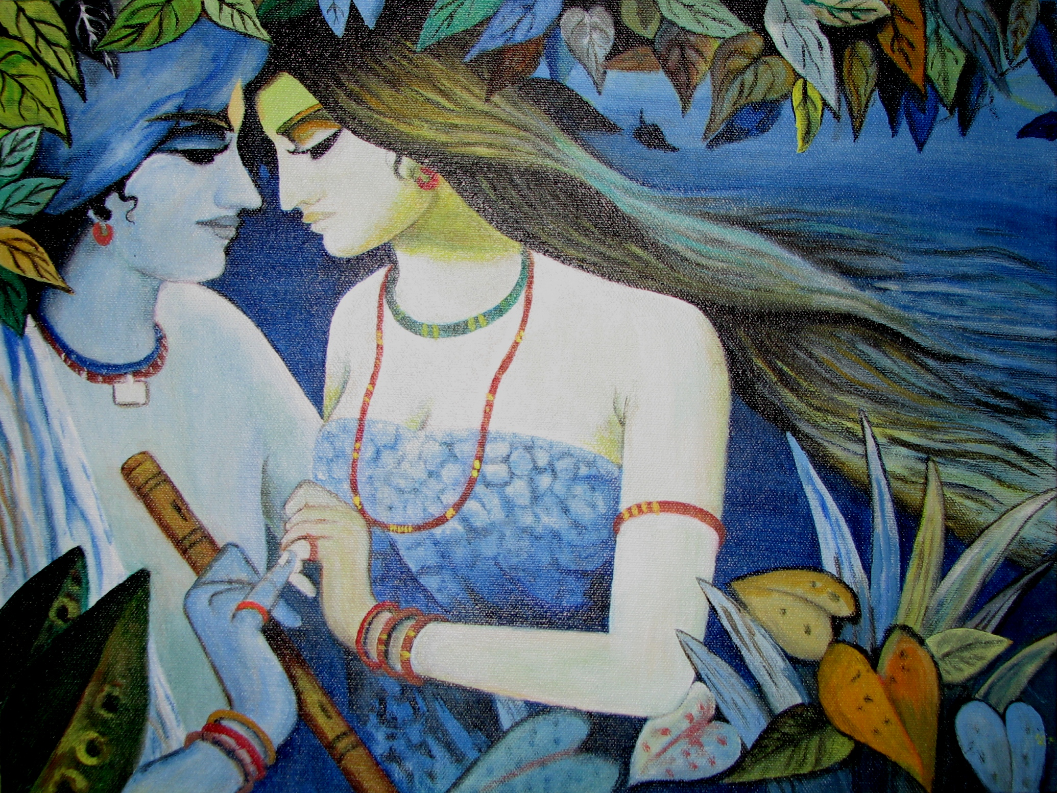 Beauty Of Radha Krishna