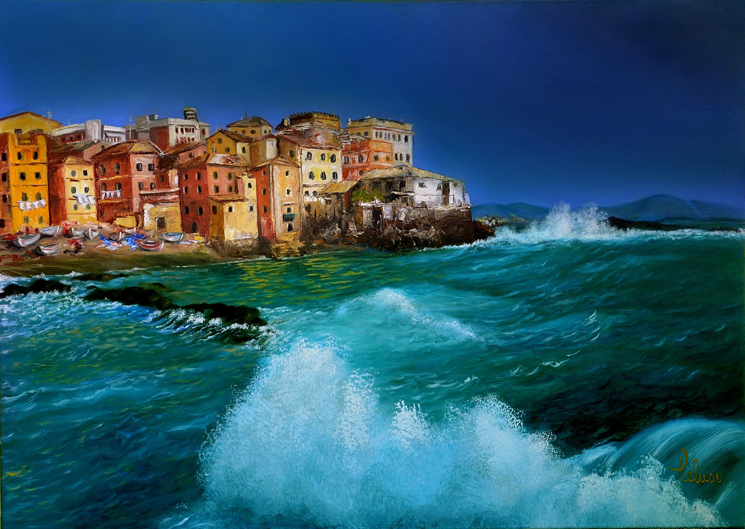 Paesaggio marino - Anna Maria Peluso - Opera Celeste Network