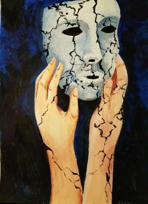 Le crepe nella maschera
