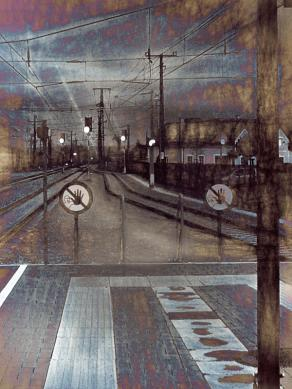 Photo-sketching trains, stations and other things relating to transportation