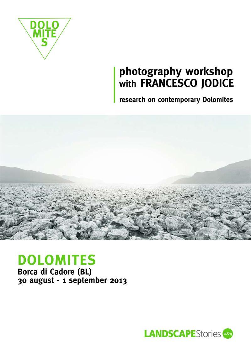 Photography workshop with Francesco Jodice I Dolomites