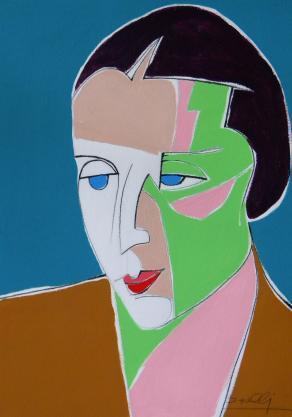 Ritratto di Tamara de Lempicka / Portrait of Tamara de Lempicka