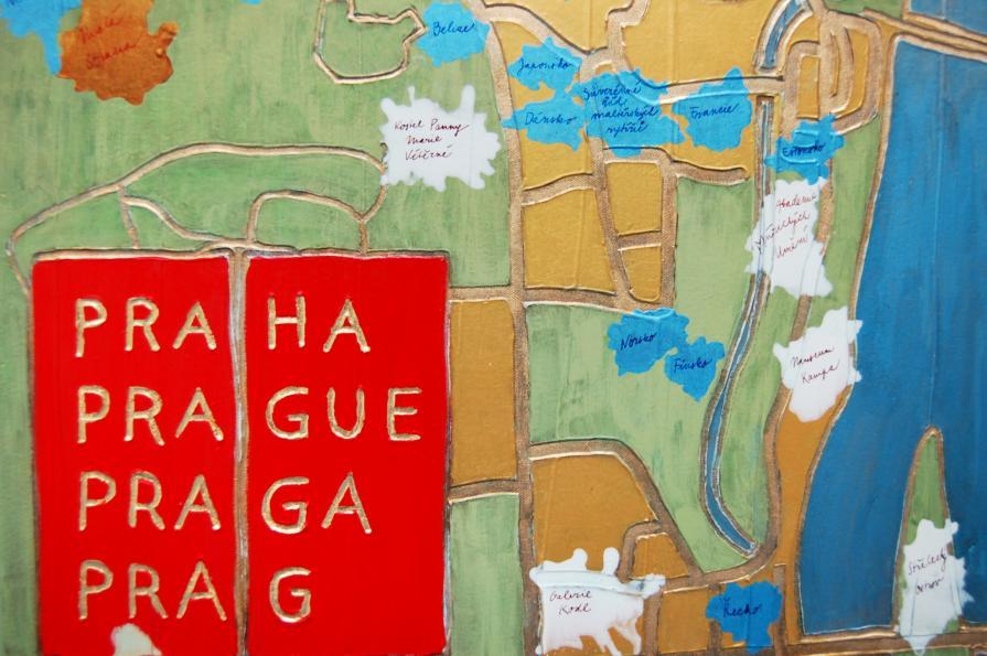 Big Gold Prague I., detail