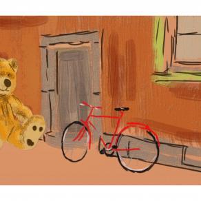 muro e biciclette