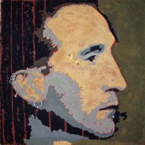 Marcel Duchamp with piercings