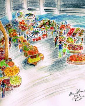 """""""Il mercato di Funchal"""""""