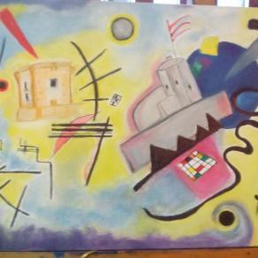 Torre di Ligny e Colombaia ad ispirzione Kandinsky