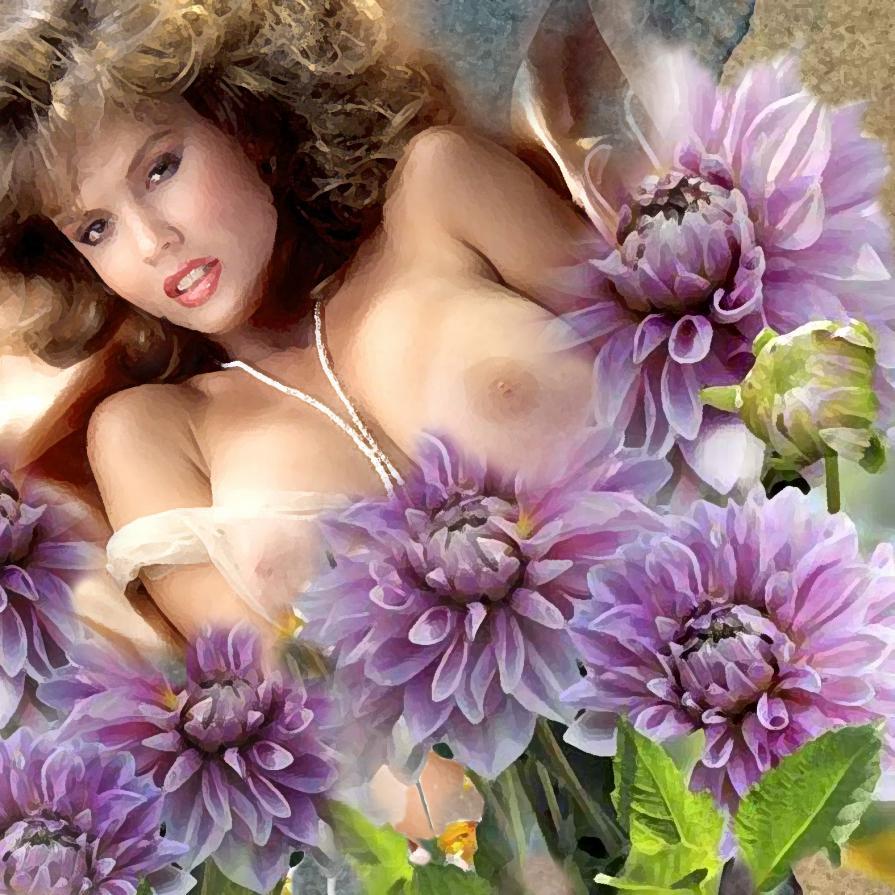 Fanciulla in fiore