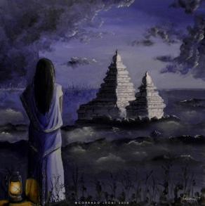 The moonlight of Mahabalipuram