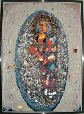 L`apparizione della Santa Madre e del Suo Figlio. Sono 1.