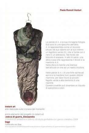 instant art_vedova di guerra_Alessandra