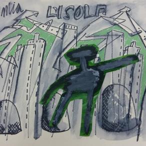 "Francesco Magli - Serie ""Isola"" - 2009 Opera 110"