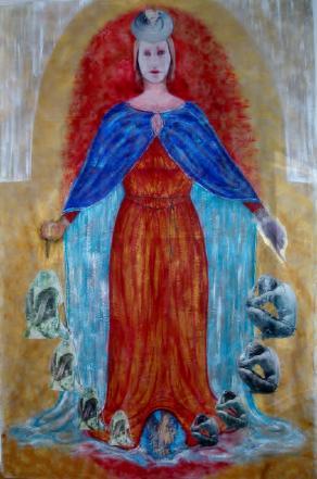MA-DONNA DELLA MISERICORDIA (da Piero della Francesca)