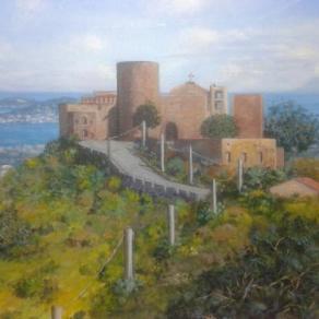 """Paesaggio siciliano """"Il Castello di S.Lucia"""