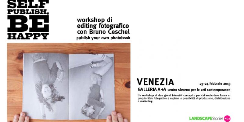 Workshop with Bruno Ceschel I Self Publish, Be Happy