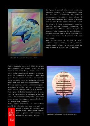 Eliana Calò - Pubblicazione su Rivista EuroArte Set-Ott - Nov 2016 (Pag.2)