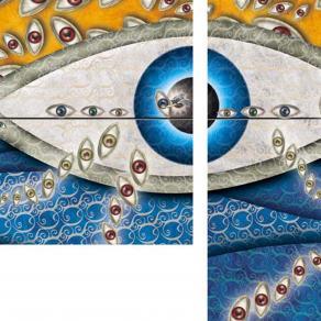 l'occhio dell'angelo (dittico)