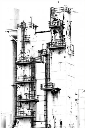 Untitled (Refining Station), Cleveland, OH, 2010