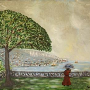 Riva del Garda,la solitudine