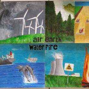 Il dominio degli elementi (Air, Earth,Water, Fire)