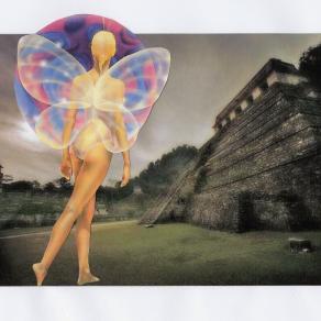 Quetzalcòatl visita le rovine di Teotihuacan