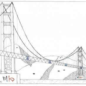 Mah-jong SAN FRANCISCO Golden Gate