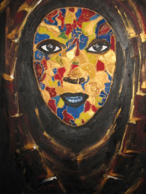 Multiethnic Gold Mask