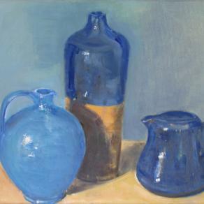 3 brocche blu