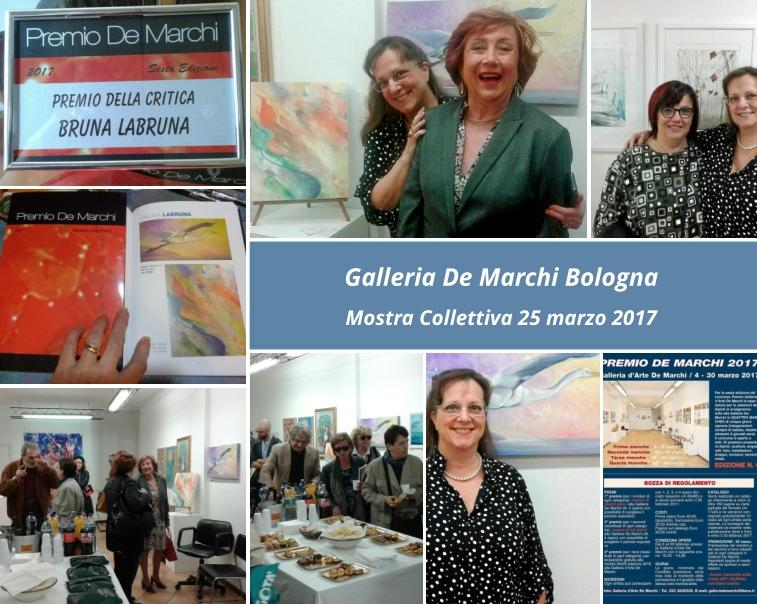 Mostra Galleria De Marchi Bologna, 25 marzo 2017