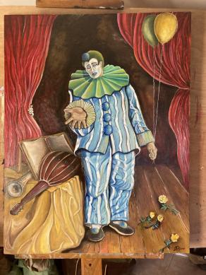 Pierrot a teatro